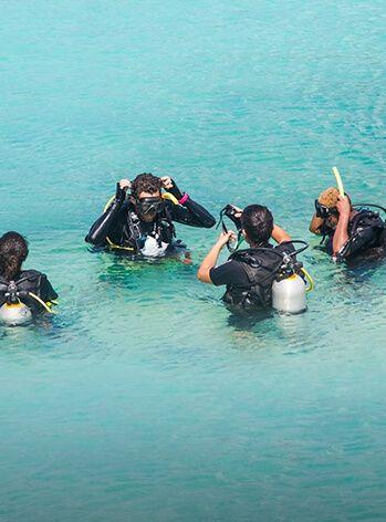 PADI Discover SCUBA Diving Lesson & Dive